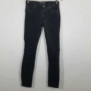 Express Legging Stella Low Rise Velour Jeans 6